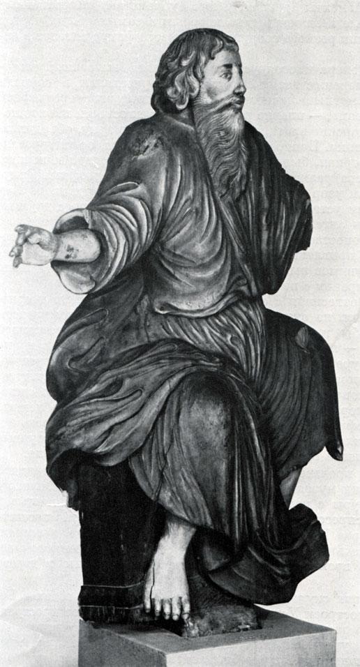 Евангелист Матфей. 1730-е гг. Великий Устюг