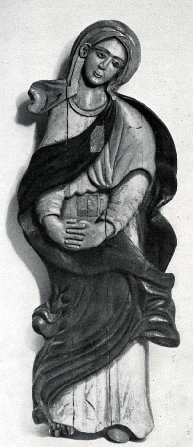 Богоматерь. XVIII в. Из Вологодской губ