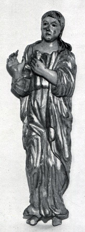 Иоанн Богослов. Втор. пол. XVIII в. Из Новгородской губ