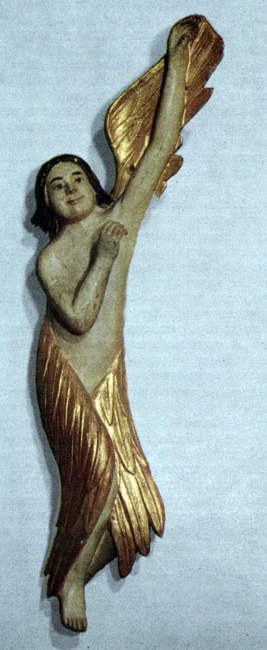 Ангел. Втор. пол. XVIII в. Из Вытегры Олонецкой губ
