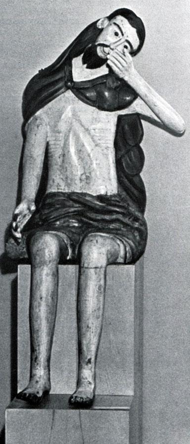 Христос в темнице. XVIII в. Из Вологодской губ