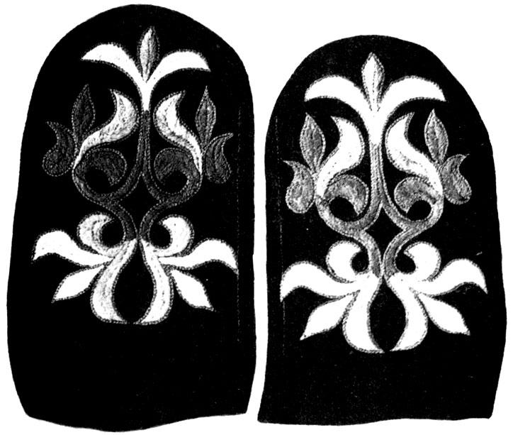 256. Заготовки для рукавиц. Работы народных мастеров. 1978 г. Абакан