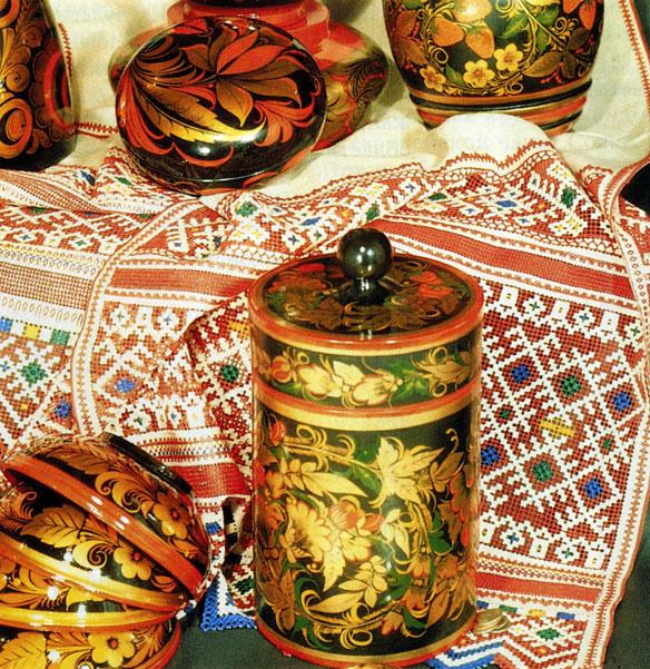 Мастерство русских вышивальниц