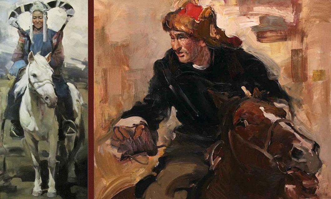 Мастерская живопись Отгоо Бадама поразила московскую публику Мастерская живопись Отгоо Бадама поразила московскую публику Фото предоставлено пресс службой галереи Коносьер