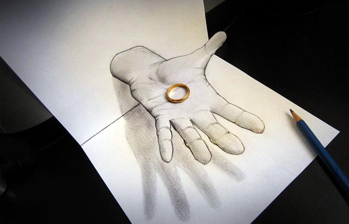 Люди нарисованные подарки - 95d9